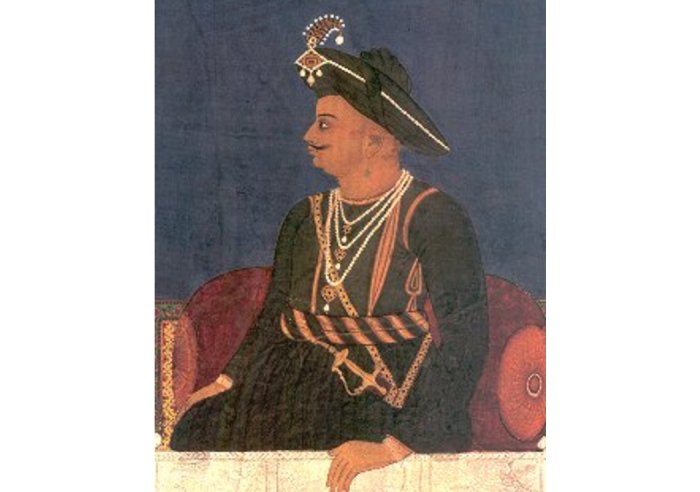 Ernstwhile ruler of the Kingdom of Mysore, also called Tiger of Mysore, Tipu Sultan