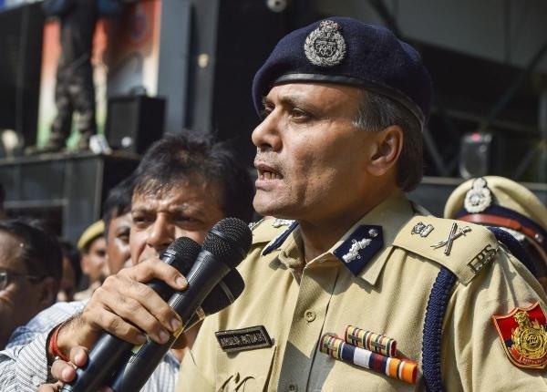 Delhi Police Commissioner Amulya Patnaik. (PTI photo)