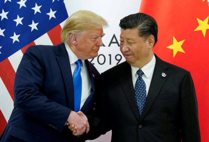 U.S. President Donald Trump meets with China's President Xi Jinping. (Reuters file photo)