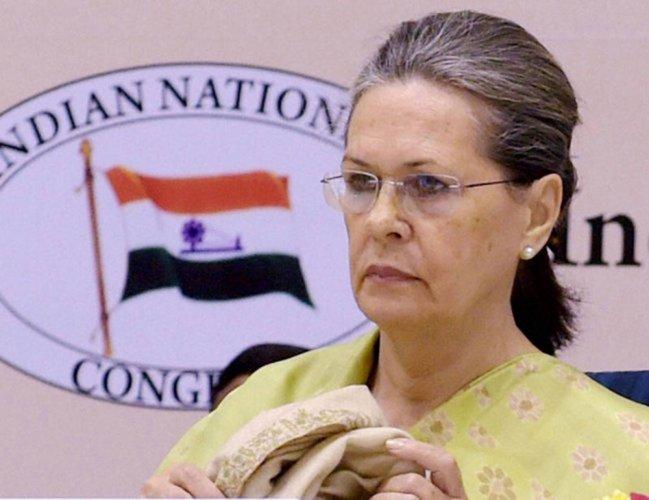 Sonia Gandhi. (File Photo)