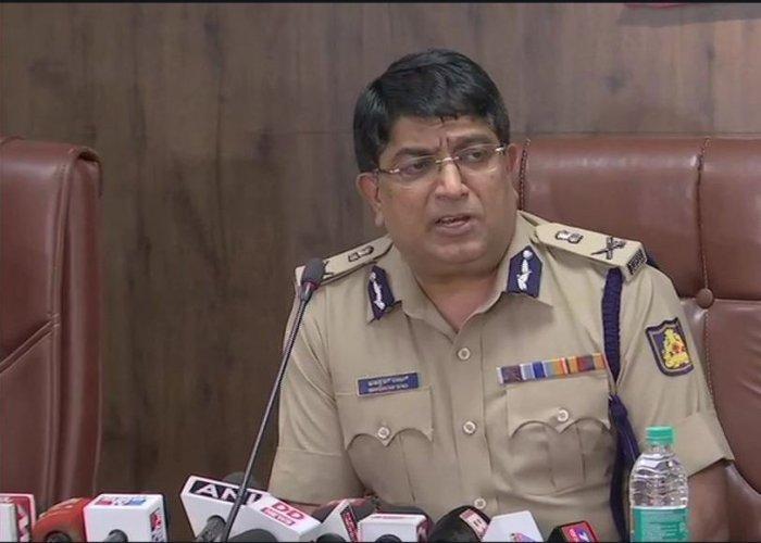 Bengaluru Police Commissioner, Bhaskar Rao. (ANI Photo)