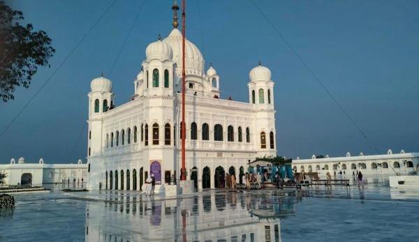 A view of Gurdwara Kartarpur Sahib in Pakistan. (PTI photo)