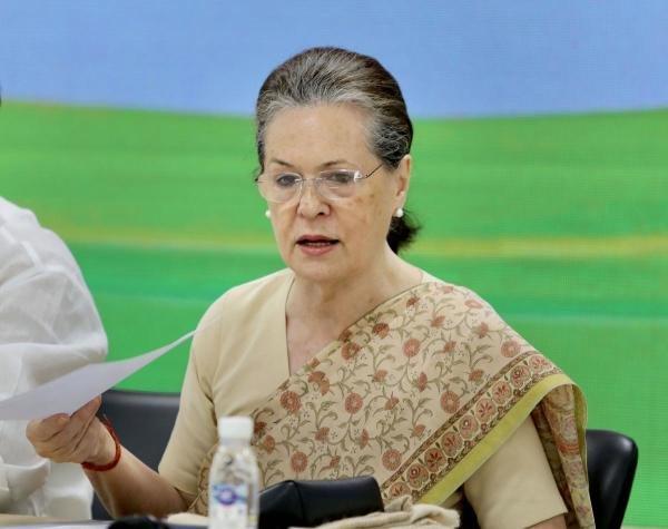 Congress interim chief Sonia Gandhi.