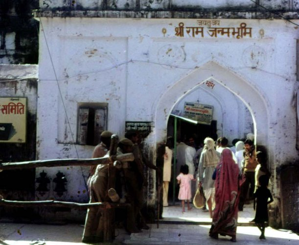 The Supreme Court would on Friday pronounce its order on whether the vexed Ayodhya dispute related to Ram temple and Babri Masjid can be referred for negotiation and who can be appointed as negotiators to talk to the parties for amicable resolution of the matter. (DH File Photo)