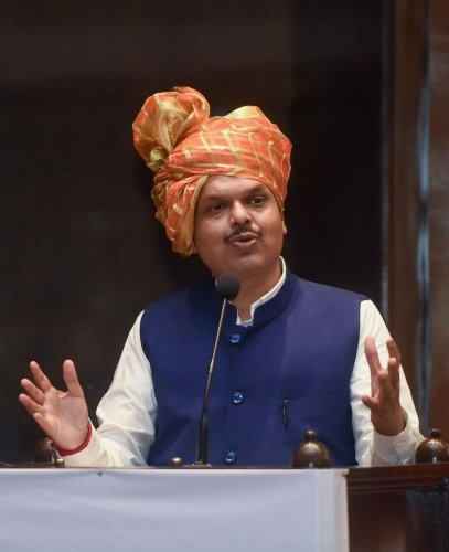 """I welcome this decision. No need to see this decision through any particular glass. People from various backgrounds have accepted this decision,"" Fadnavis said. Photo/PTI"