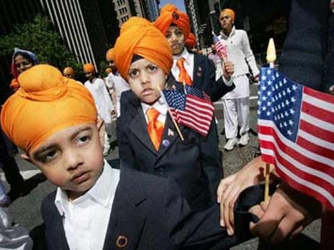 Picture of Sikh-American.