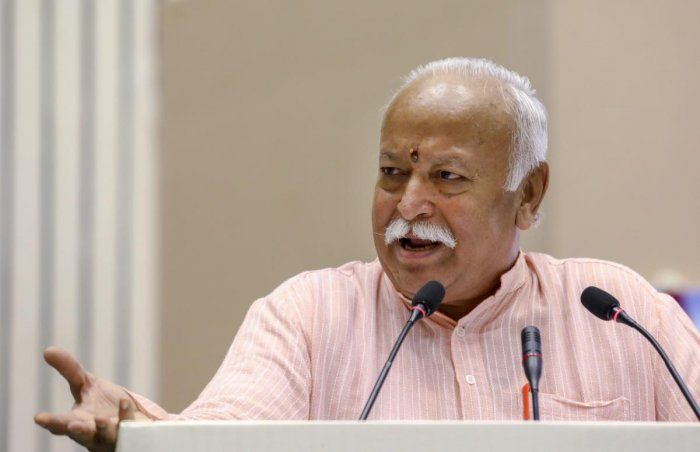 RSS chief Mohan Bhagwat. PTI file photo