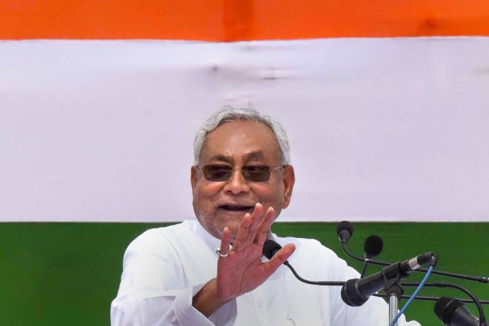 Bihar Chief Minister Nitish Kumar. (PTI File Photo)