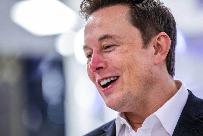 SpaceX founder Elon Musk. (Photo by Philip Pacheco / AFP)