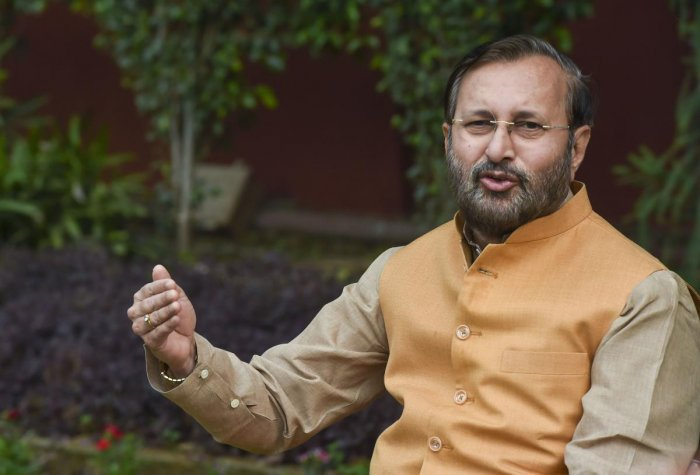 """The judgment of the Honourable Supreme Court on Ayodhya is historic, balanced and judicious. I am sure that everyone will welcome it,"" said Javadekar. Photo/PTI"