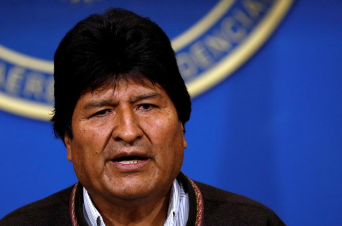 Bolivia's President Evo Morales. (Reuters photo)