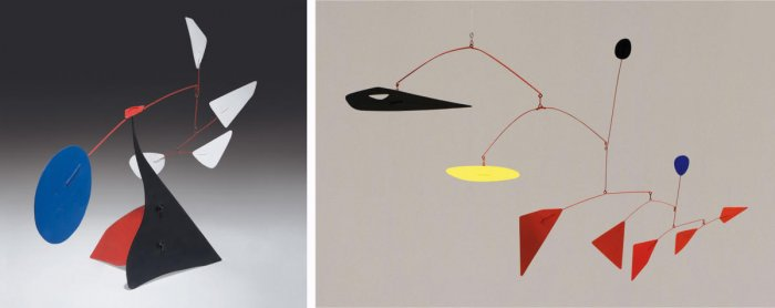 Calder's sculptures