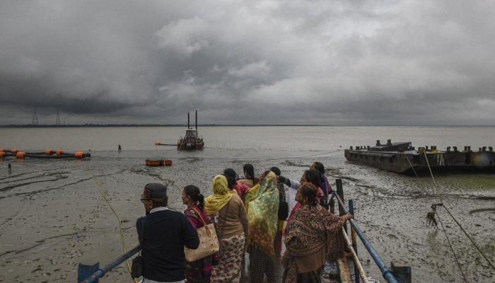 cyclonic storm 'Bulbul', West Bengal-Bangladesh coasts. (PTI Photo)
