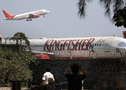 Working to recover loans from Kingfisher Airlines: Pvt Banks