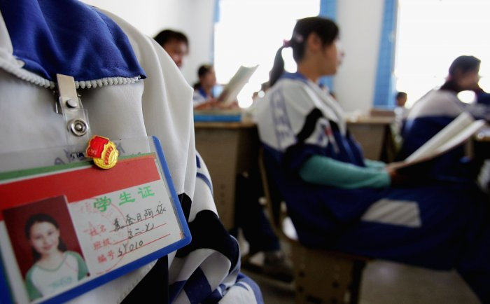 """The World Bank launched another review of the program in late August after Foreign Policy magazine reported that a school that benefited from a tranche of the $50 million loan to China bought """"barbed wire, gas launchers, and body armor."""" Photo/Getty"""