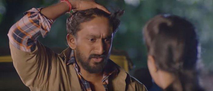 Balu Nagendra in 'Kapata Nataka Pathradhari'.