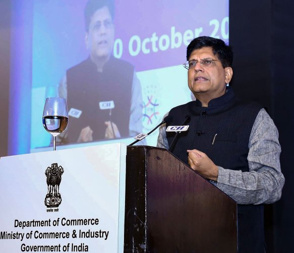 Union Minister for Railways and Commerce & Industry Piyush Goyal. (PTI Photo)