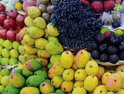 Fresh fruits flood the market