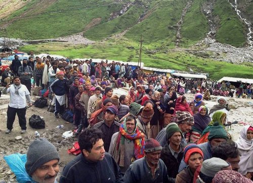 Thousands of flood-hit without food in Uttarakhand