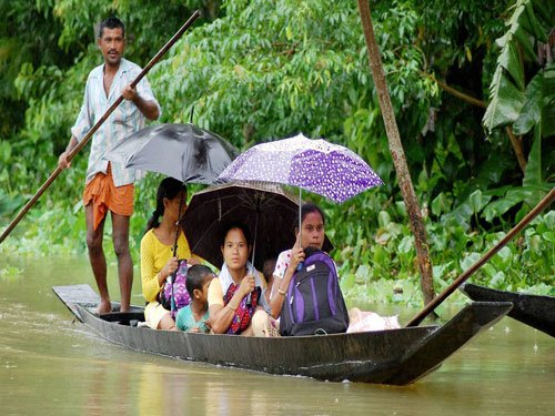 More rains to add to flood woes in Assam, Arunachal