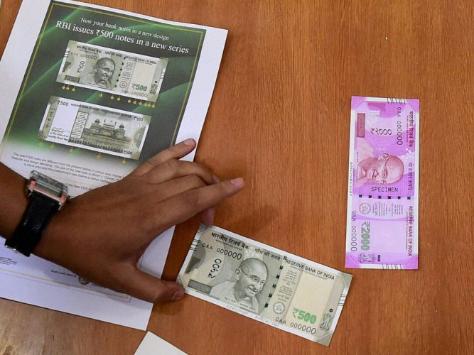 No records of fake currency deposited in banks: RBI