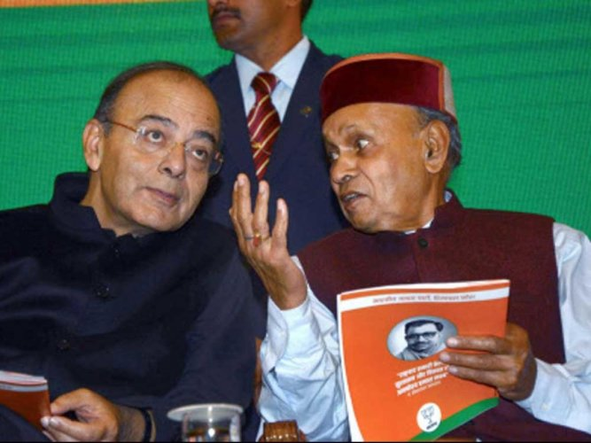 BJP banks on Dhumal to stage a comeback in HP