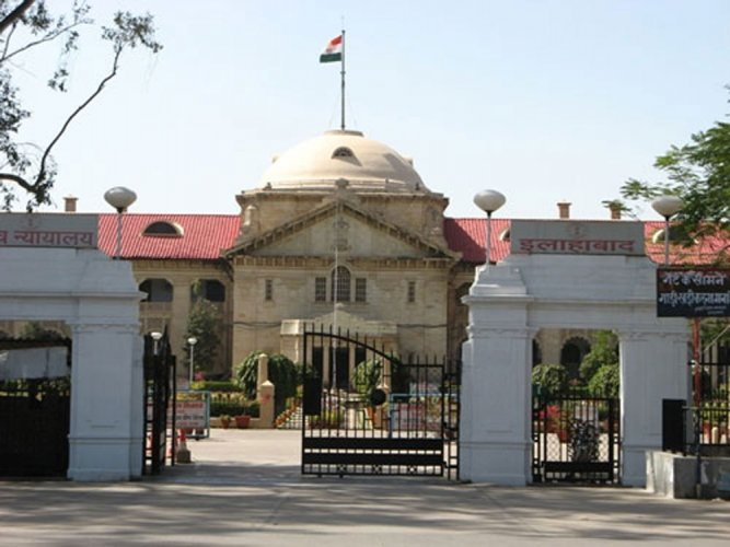 Allahabad high court. DH file photo