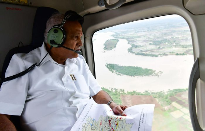 Yediyurappa also claimed that it was the first time that any state government was providing such large-scale relief.