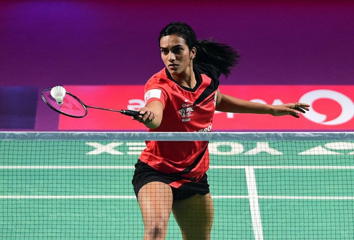 Top shuttlers including World Champion P V Sindhu will take part in the league. (DH file photo)