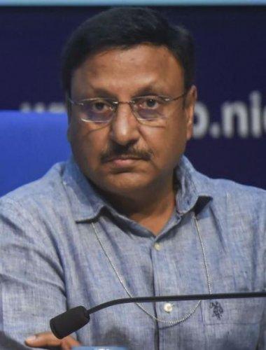 Finance Secretary Rajiv Kumar. (File Photo)