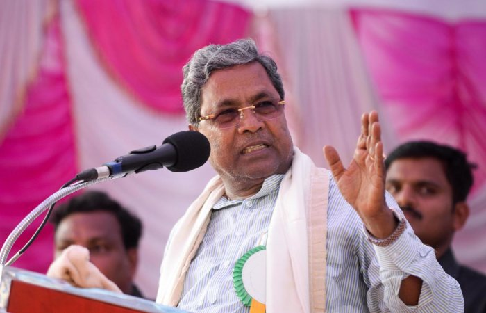 Leader of Opposition in Assembly Siddaramaiah. DH Photo