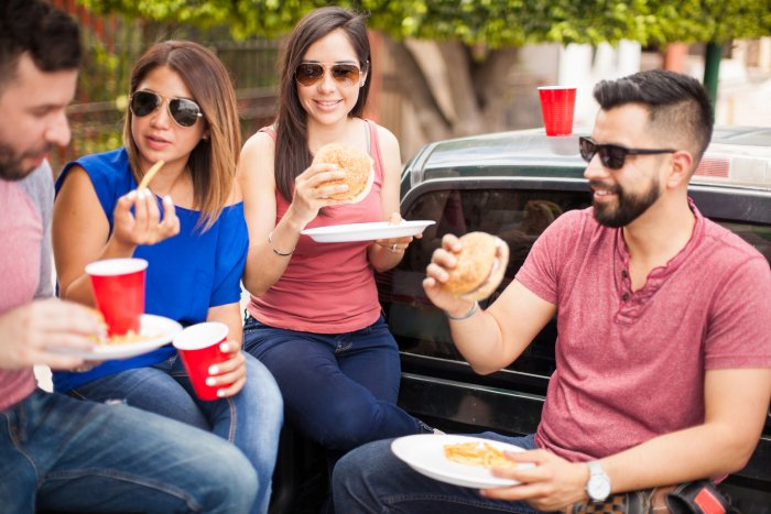 French fries, cold drinks and chaat cannot substitute a balanced meal, say nutritionists.