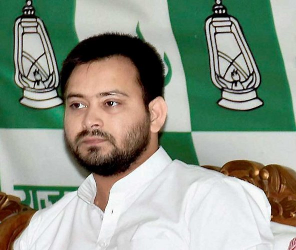 RJD leader Tejashwi Yadav (PTI Photo)