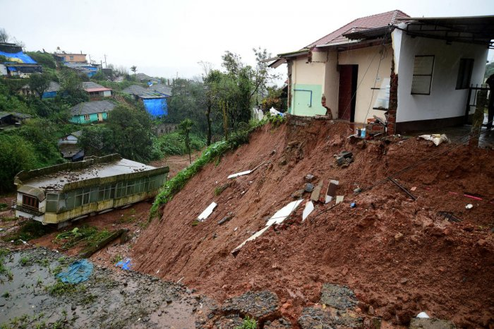 The government has decided to disburse a monthly compensation of Rs 10,000 to flood victims, who have lost their houses in the recent calamity, Housing Minister U T Khader said on Tuesday.