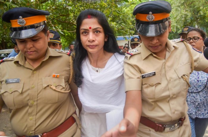 Indrani last year recorded a statement before a magistrate claiming that she and her then-husband Peter met the then Finance Minister, in his North Block office, who requested them to help his son's business. (PTI File Photo)