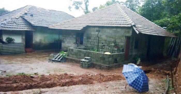 Houses of Ravi Suresh at Marandoda village in Kodagu.