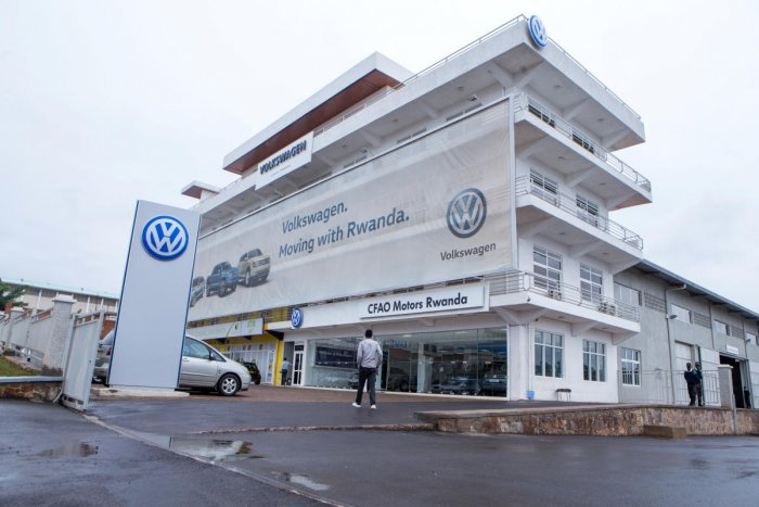 Volkswagen is placing a $50 million bet on a new business built around ride-hailing and car-sharing model and is starting its business in Rwanda. Reuters File Photo