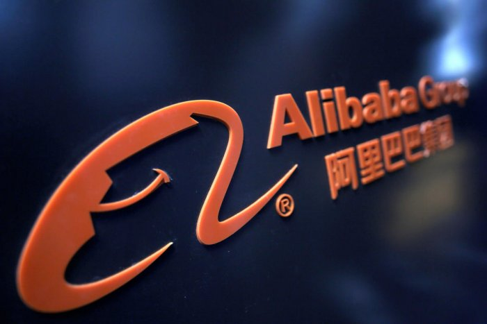 A logo of Alibaba Group. (REUTERS File Photo)