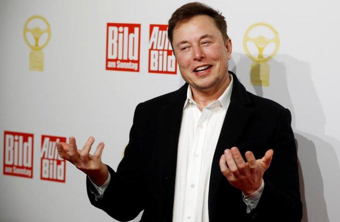 Tesla auto factory chief executive Elon Musk (Reuters photo)