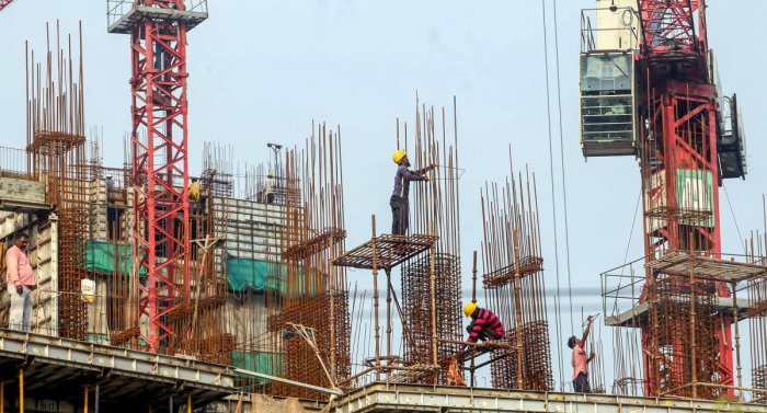 Aslumpin the residentialpropertymarket is leaving many builders struggling to repay loans to shadow lenders - housing finance firms outside the regularbankingsector that account for over half of the loans to developers. Photo/PTI