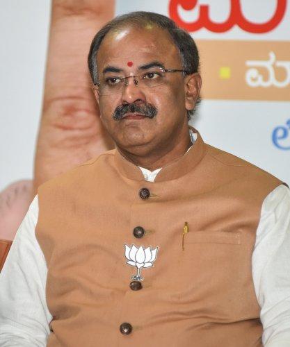 Aravind Limbavali. (DH Photo)