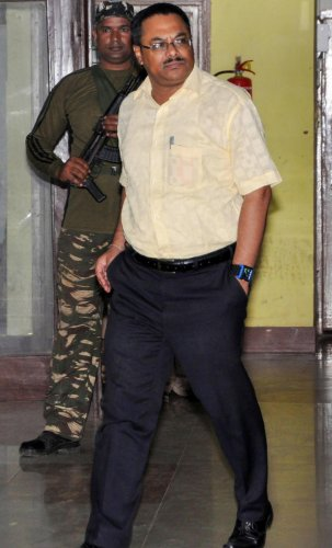 IPS Officer Arnab Ghosh, one of the member of the SIT (PTI Photo)