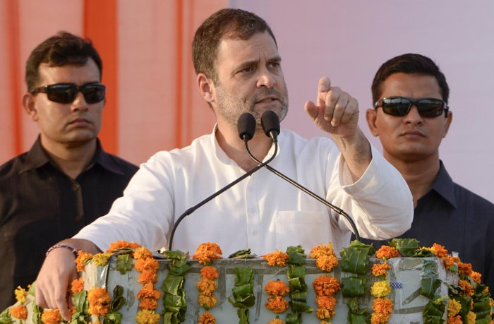 """The top court, which closed contempt proceedings against Rahul initiated on a petition filed by BJP MP Meenakshi Lekhi, also noted that he tendered his """"unconditional apology"""" only on May 8. PTI"""