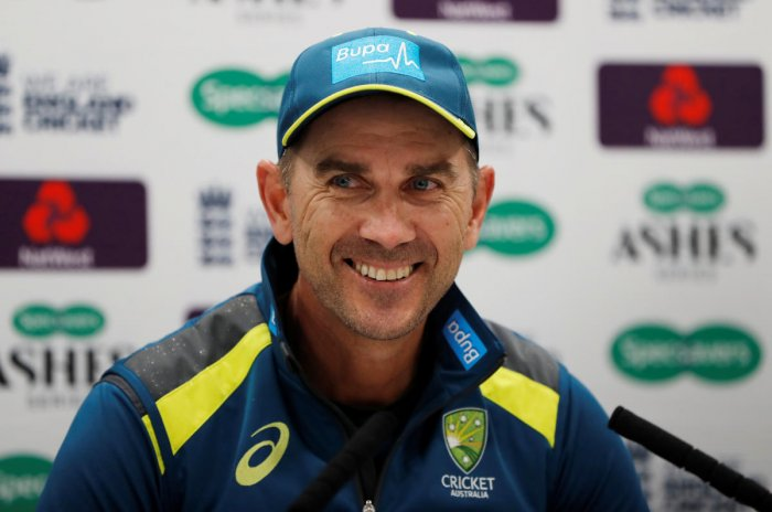 Australia head coach Justin Langer. (Reuters photo)