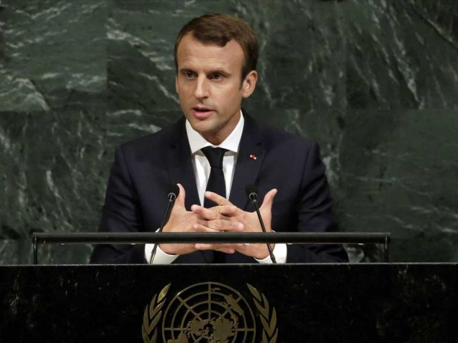 Macron, who has been spearheading the drive for peace in Ukraine, had hoped to host the summit in September but it was held up by numerous obstacles that highlighted the difficulty of resolving the conflict. Reuters file photo