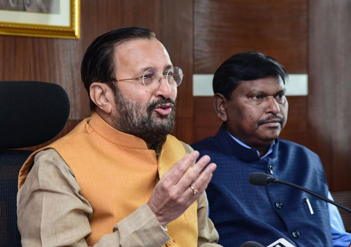 Union Minister for Environment, Forest and Climate Change Prakash Javadekar. (PTI Photo)