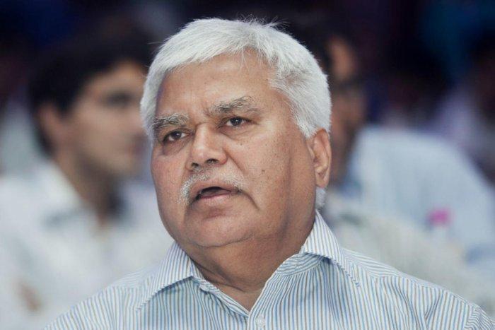 Trai Chairman R S Sharma. (DH Photo)