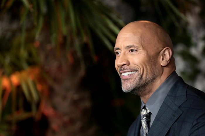An American-Canadian actor, producer, and former professional wrestler Dwayne Johnson.