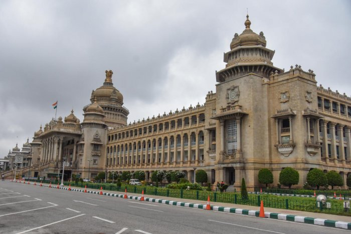 The Centre for e-Governance is working with the National Informatics Centre for e-Vidhan. DH File Photo