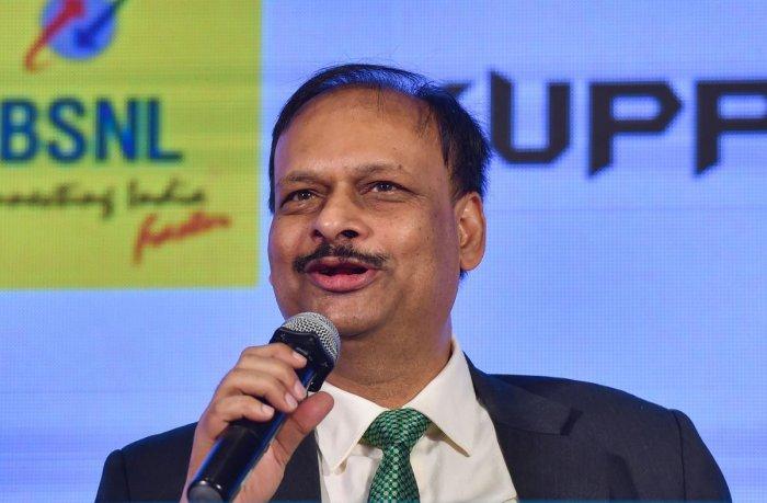 BSNL CMD Pravin Kumar Purwar (PTI Photo)